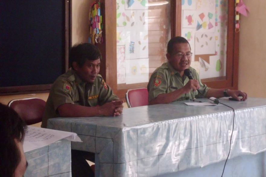 Image : Komunikasi Dua Desa Bersaudara